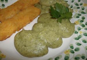 Bramborové pyré s brokolicí