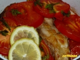 Kapr zapečený s rajčaty recept