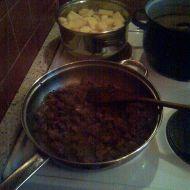 Listový závin se srnčím masem a houbami recept