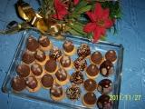 Úly, svíčky, stromečky  bez ořechů recept
