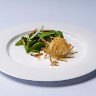 Špenátový salát s hruškami recept