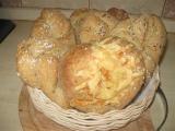 Chlebánky se škvarkama recept