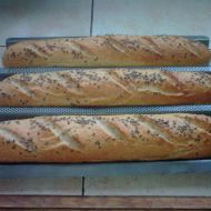 Chlebová bageta recept