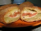 Plněné bramborové řízky recept