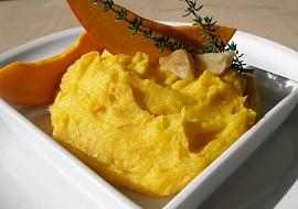 Bramborovo  dýňová kaše s pečeným česnekem recept ...