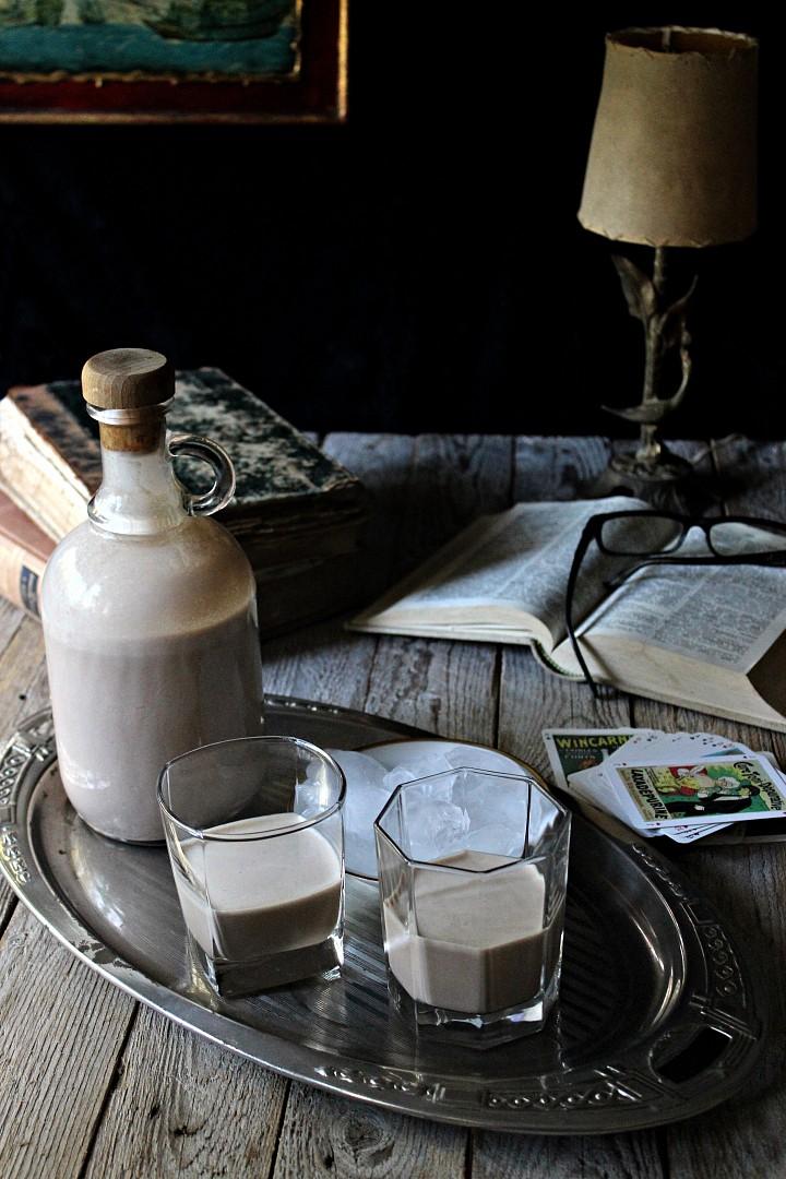 Smetanový whiskey likér recept