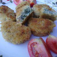 Kuřecí nugetky se špenátem recept
