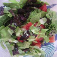 Bazalková zálivka na hlávkový salát recept