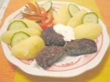 Špenátové ( mangoldové ) karbanátky s rýží recept
