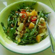 Medový salát s rukolou a pomerančem recept