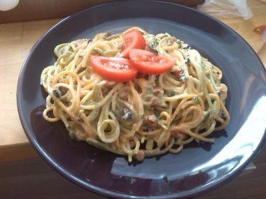 Špagety co dům dal