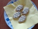 Ořechovo  brusinkové keksy recept