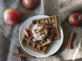 Veganské wafle bez cukru s tofu jablečným krémem recept ...