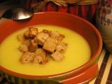 Celerový krém se sýrem a zázvorem recept