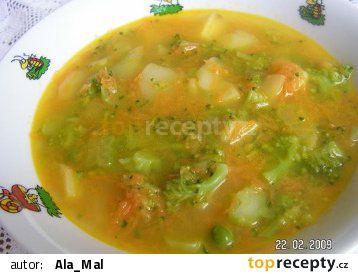 Zeleninová baby polévka recept