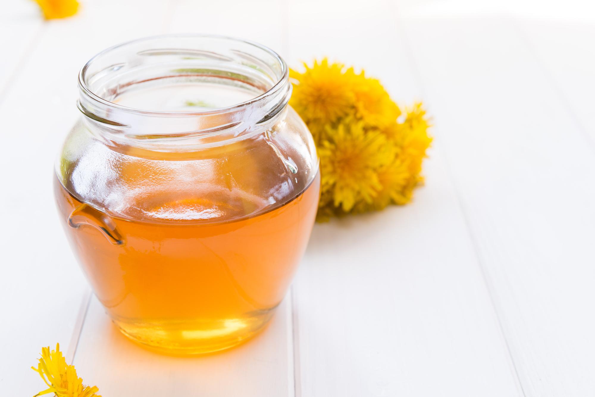 Pampeliškový med s citrusy recept