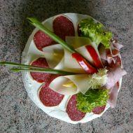 Slaný narozeninový dort recept