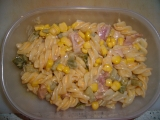 Salátek z uzeného recept