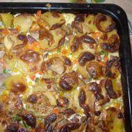 Francouzské brambory z vepřové konzervy recept