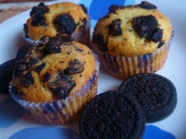 Oreo muffiny