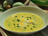 Pažitková žloutková polévka recept