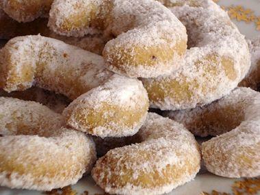 Ořechové vanilkové rohlíčky s celozrnnou moukou BEZ CUKRU ...