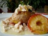 Tymiánové kuřecí nudličky v pečené bramboře recept