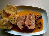 Hovězí na houbách a karlovarský knedlík recept