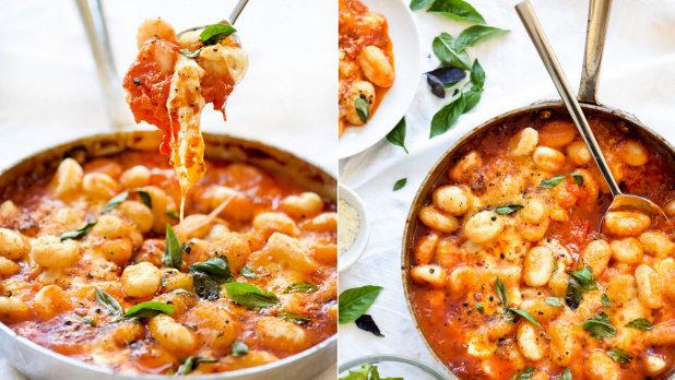 Gnocchi s rajčatovou omáčkou