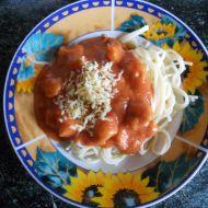 Kečupová omáčka na špagety recept