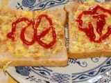 Střapaté sendviče recept