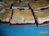 Linecký rybízový koláč pod sněhem recept