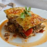 Cuketové lasagne s hovězím masem recept