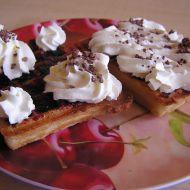 Snídaňové vafle recept
