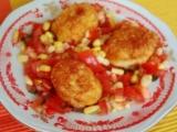Kukuřičné kuličky se zeleninou recept
