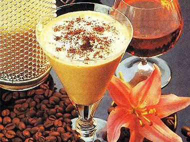 Ledový kávový koktejl