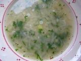 Jáhlová polévka rychlá recept