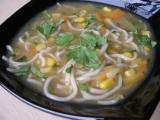 Polévka z krevetového vývaru s nudlemi recept