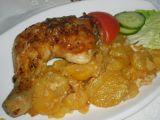 Kuře na smetaně s bramborem recept