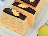 Nepečený piškotový dezert s tvarohem a jablky recept