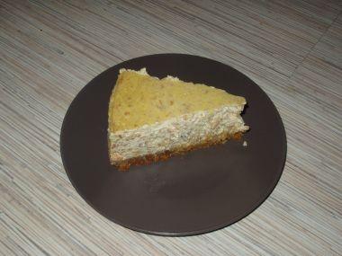 Jablečný cheesecake