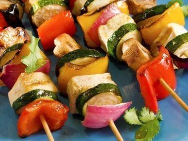 Recept Grilované hovězí špízy se zeleninou