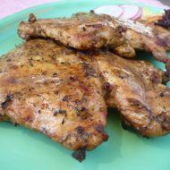Kuřecí motýlci na grilu recept