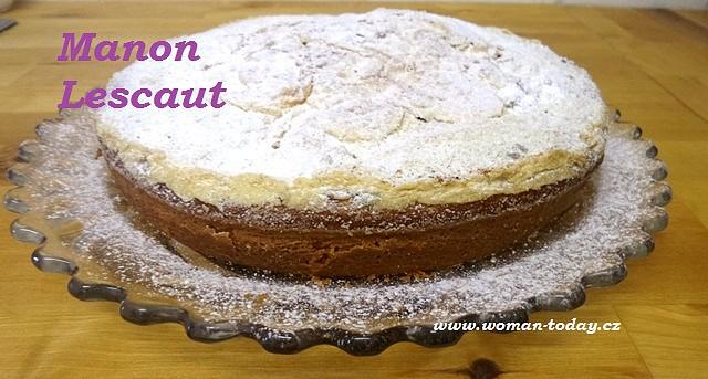 Moučník Manon Lescaut recept