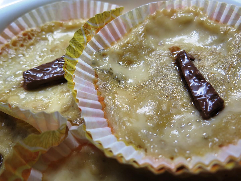 Banánový košíček se sýrem recept