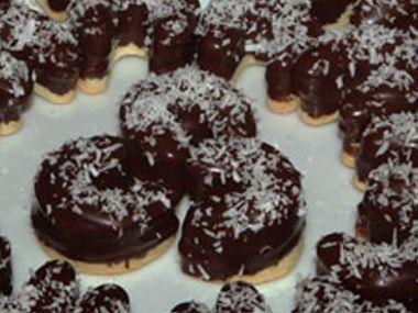 DIA Kokosové rohlíčky s marmeládou