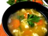Zeleninová polévka s quinoa recept