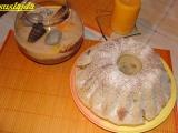 Bramborová bábovka s ořechy recept