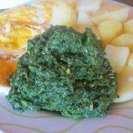 Dušený špenát s vejcem recept