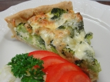 Brokolicový quiche recept
